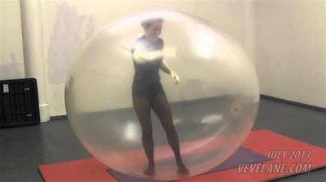 VeVe's First Giant Balloon Breakout Pop - YouTube